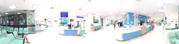 Yanhee Hospital -Bangkok - Infomation Counter and waitng area
