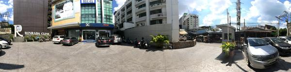 The Dental Design Center - Pattaya - View from outside of clinic