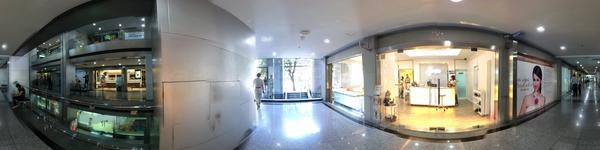 Absolute Beauty Clinic - Central World Branch -  View from outside of clinic and around the cinic