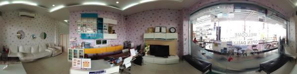 CDC Chiangmai Dental Clinic - Chaingmai, Thailand - Reception and Waiting Area
