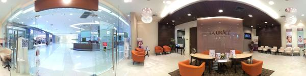 La Grace Clinic Future Park Rangsit Branch - Pathum Thani - Inside Clinic with Reception Counter and