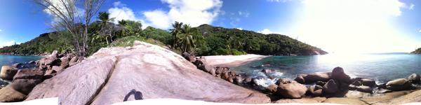 Major - пляж на Mahe