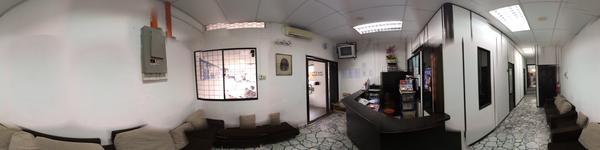 Ong & Lim Dental Surgery - Batu Lanchang, Penang, Malaysia - Entrance, Reception area and Waiting ar