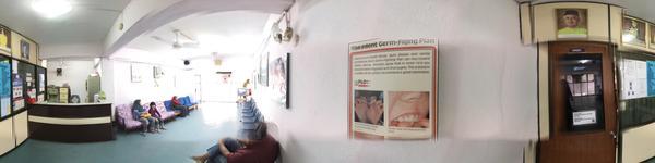 Island Dental Surgery - Bayan Baru, Penang - Reception area and waiting area