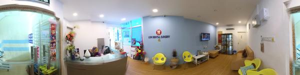 Loh Dental Penang - Jelutong, Penang, Malaysia - Entrance, Reception area and waiting area
