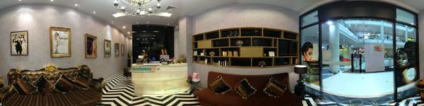 Absolute Beauty Clinic - Central Plaza rama 2 Branch -Nice landscape and shop around clinic