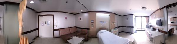 Yanhee Hospital -Bangkok -  The recovery room has fully furnished such as TV, refrigerator, high-tec