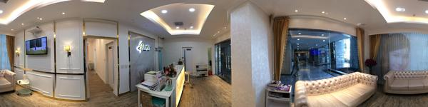 Absolute Beauty Clinic - Central World Branch - View of Consultation Room with treatment room and wa