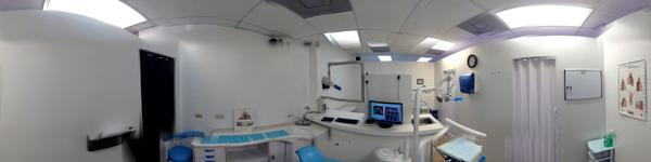 Castle Dental treatment room #1