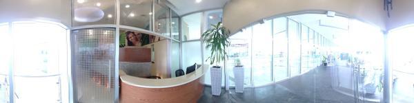 Cancun Cosmetic Dentistry - Cancun, Mexico - reception desk