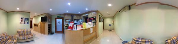 Neoh Dental Surgery - Jelutong, Penang, Malaysia - Patient waiting area and Reception area